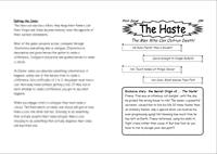 RPG Item: The Haste