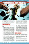 RPG Item: Power Profile #10: Earth Powers