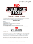 RPG Item: DDEX1-07: Drums in the Marsh