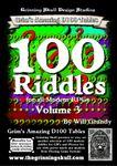 RPG Item: 100 Riddles for all Modern RPGs, Volume 3
