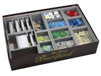 Board Game Accessory: The Castles of Burgundy: Folded Space Insert