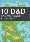 RPG Item: 10 D&D Campaign Maps (Stylized)