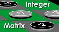 Board Game: Integer Matrix