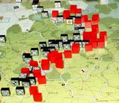 August II 1942: Despite Axis desperate defenses the East Front is still pressed.
