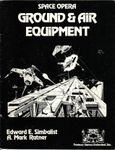 RPG Item: Ground & Air Equipment