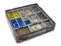 Board Game Accessory: Great Western Trail: Folded Space Insert