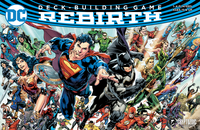 Board Game: DC Deck-Building Game: Rebirth