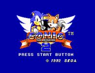 Video Game: Sonic the Hedgehog 2 (8-bit)