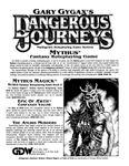 RPG: Dangerous Journeys