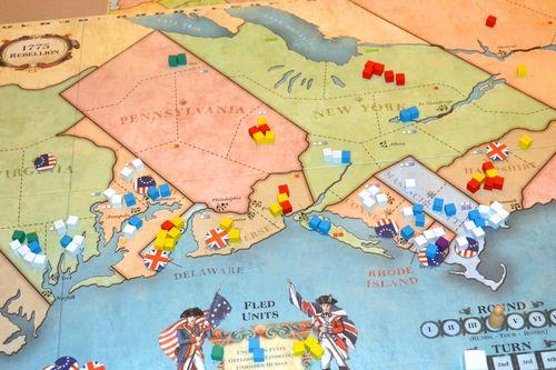 Board Game: 1775: Rebellion