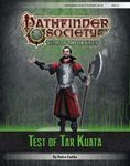 RPG Item: Pathfinder Society Scenario 6-19: Test of Tar Kuata