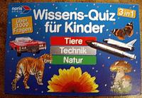 Board Game: Wissens-Quiz für Kinder: Tiere, Technik, Natur