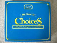 Board Game: Choices