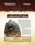 RPG Item: The Aden Gazette Issue No. 10: Islands of the Known Lands: Leatherback Island (Pathfinder)