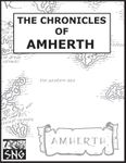 RPG Item: The Chronicles of Amherth