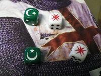 Custom dice for Crusader and Muslim