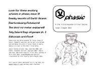 Issue: Phasic (Issue 2 - Aug 2010)