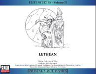 RPG Item: Elite Studies - Volume II: Lethean