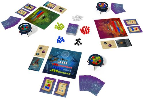 Board Game: Whirling Witchcraft