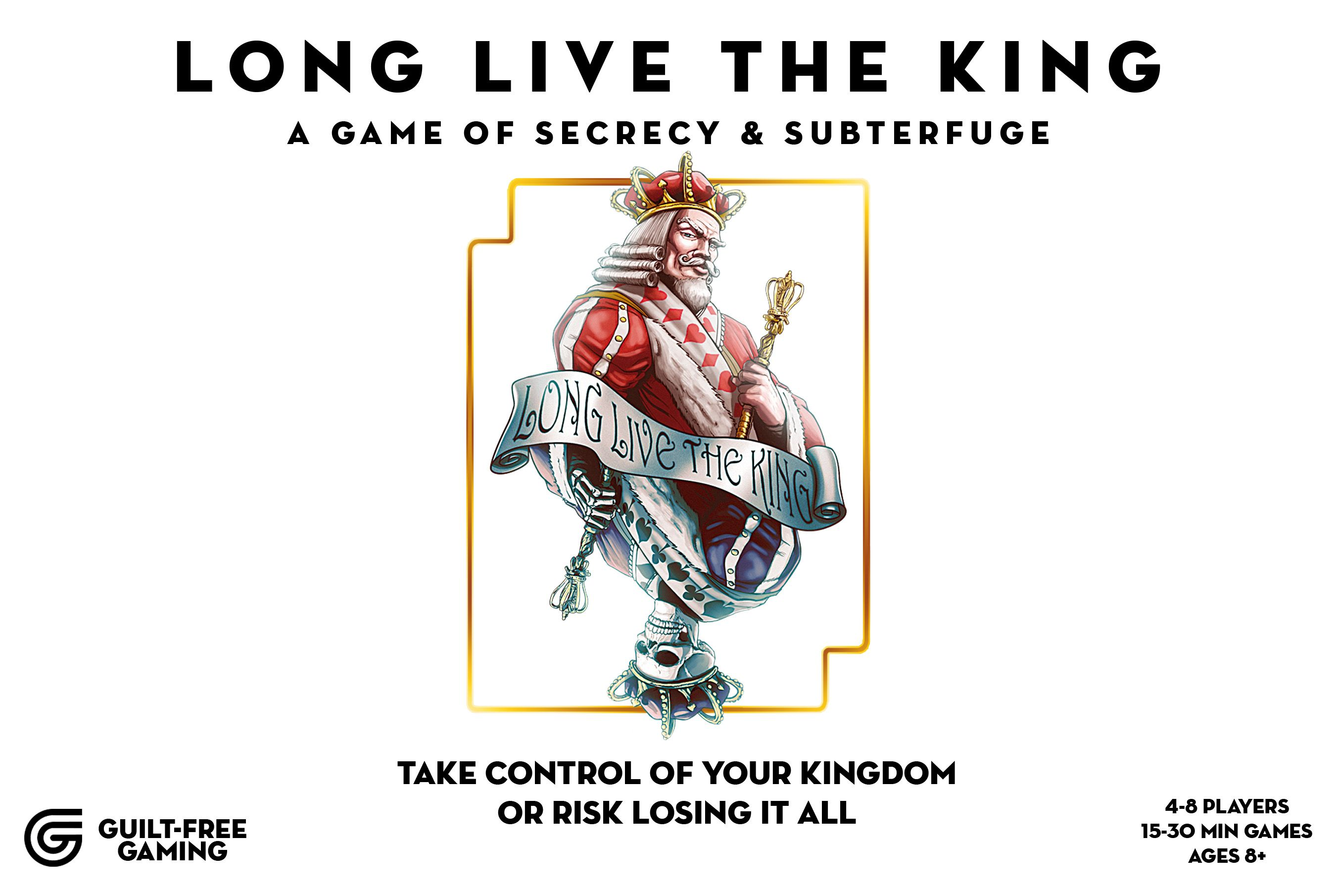 Long Live the King: A Game of Secrecy and Subterfuge