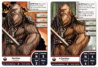 Board Game Accessory: Star Wars: Imperial Assault – Gaarkhan (Hero) Alternate Art