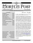 Issue: The Camarilla Mortem Post (Issue 13 - Oct 2007)