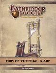 RPG Item: Pathfinder Society Scenario 9-20: Fury of the Final Blade