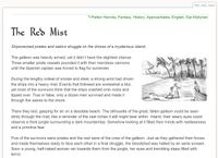 RPG Item: Tales of Entropy: The Red Mist