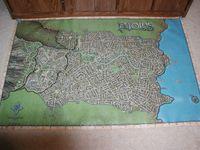 RPG Item: Ptolus Vinyl Map