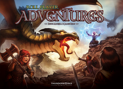 Board Game: Roll Player Adventures