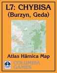 RPG Item:  Atlas Hârnica Map L7: Chybisa (Burzyn, Geda)