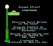 Video Game: Sesame Street: Countdown