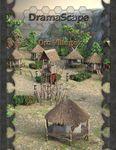RPG Item: DramaScape Fantasy Volume 092: Orc VIllage