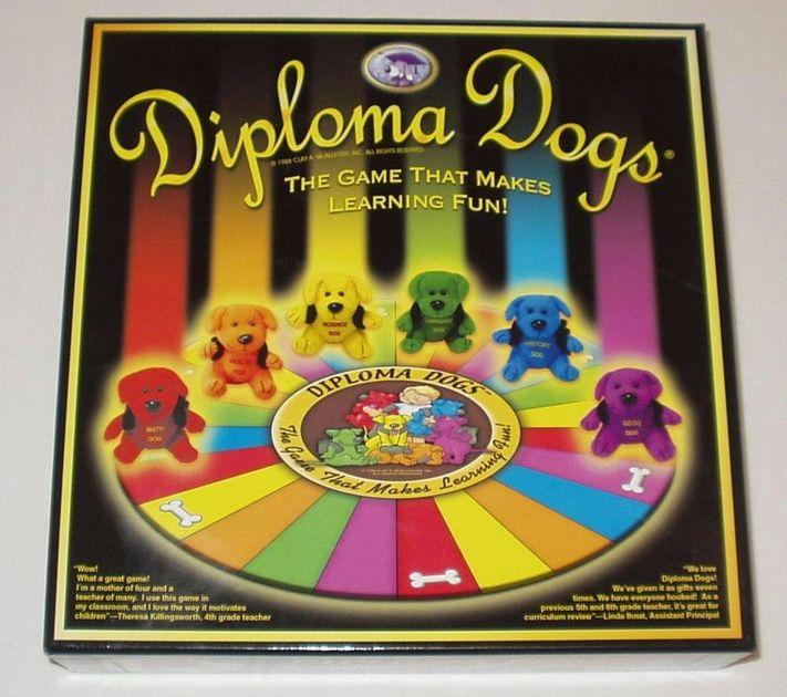 diploma dogs board game boardgamegeek