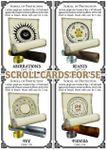 RPG Item: Scroll Cards