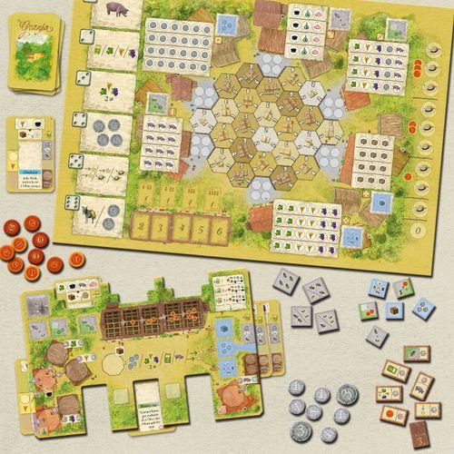 Board Game: La Granja