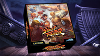 Board Game: Street Fighter: The Miniatures Game