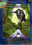 RPG Item: DF07: Monstrous Tome Volume 1