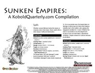 RPG Item: Sunken Empires: A KoboldQuarterly.com Compilation