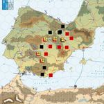 EuroFront II on Vassal: the Spanish Civil War in September 1939.  Foreign intervention has ended, for now.