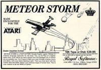 Video Game: Meteor Storm