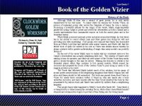 RPG Item: Lost Books 07: Book of the Golden Vizier