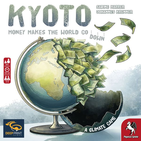 Kyoto - Cover of the English version