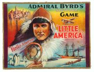 Board Game: Admiral Byrd's South Pole Game 'Little America'
