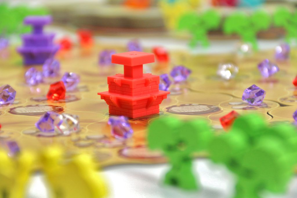 Board Game: Ishtar: Gardens of Babylon