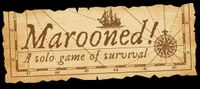 Board Game: Marooned! A solo game of survival