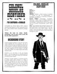 RPG Item: Colonel Douglas Mortimer