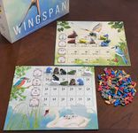 Board Game Accessory: Wingspan: Double-Sided Wrapped-Edge Goal Board