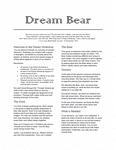 RPG Item: Dream Bear