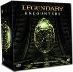 Board Game: Legendary Encounters: An Alien Deck Building Game